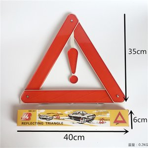 Wholesale New Folding Car Emergency Tripod Reflective Automobile Traffic Warning stop sign Dropship