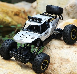 New RC Car 2.4G 4WD Four-wheel drive remote control car high-speed climbing racing children's off-road vehicle kid adult electric toy cars