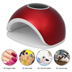 Wholesale 72W LED UV Nail Lamp Nail Gel Dryer Fingernail Toenail Gel Curing Machine Art Painting Tool
