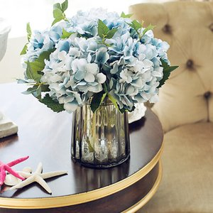 Wholesale Artificial Hydrangea Silk Flower for Wedding Decor Artificial Flower Peonies Bouquet Fake for Home Decorative