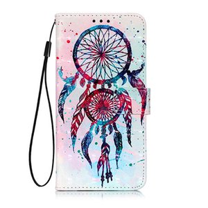 Wholesale For SONY X20 XZ5 Hot D Painted Anti fall PU Leather Wallet Mobile Shell Wallet Set Flower Butterfly Ocean Flip