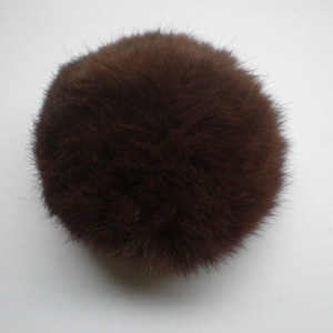 Wholesale 8cm size many colours Rabbit fur ball and cheap price rabbit pompoms fast and