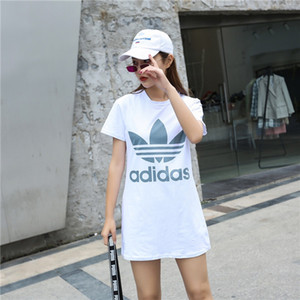 Wholesale Women Summer Designer Dresses New Brand Womens Sports Style Dresses Women Hot Sale Active Style Mini Dress High Quality Solid Color Dress