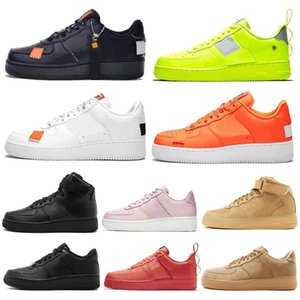 Wholesale 2020 Men Utility Classic Black White Women Casual Shoes Green Skateboarding High Low Cut Wheat trainers Sports Sneakers size