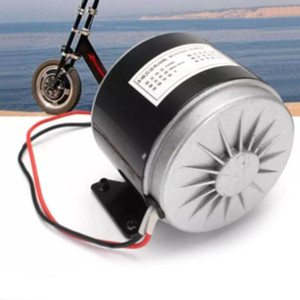 Professional 24V 250W High-Speed Brushed DC Motor Electric Scooter Folding Bicycle Electric Bicycle Brush Motor Bike Accessories