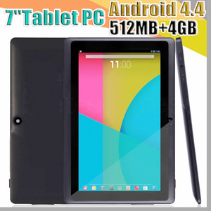 Wholesale epad tablet inch android for sale - Group buy 168 DHL inch Capacitive Allwinner A33 Quad Core Android dual camera Tablet PC GB MB WiFi EPAD Youtube Facebook Google A PB