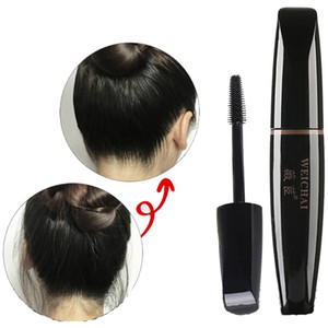 Wholesale keyouly hair finishing cream g with small brush hair oil off portable for women and men