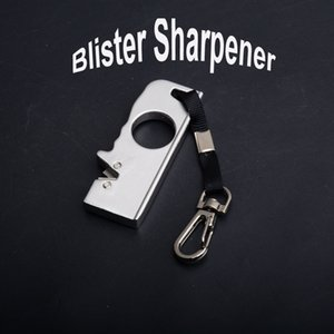 Wholesale Utility Camping Gear Kimter Mini Field Blister Sharpener Keychain EDC Knife Pocket Cutting Hand Tools Sharpner Best Xmas Gift P462R F