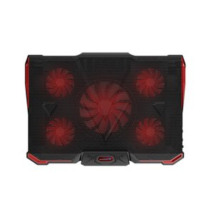 Wholesale laptop cooler cooling pad with Silence LED Fans USB Adjustable Notebook Holder for macbook air pro new