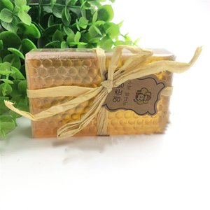 Wholesale Newest women and men Handmade soap, essential oil soap,pure facial honey soap, natural whole body moisturizing and cleansing soap 5033