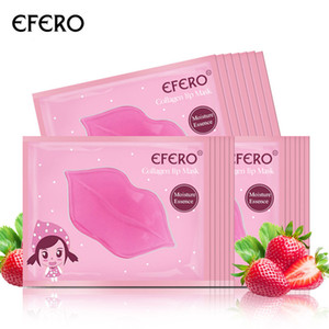 Crystal Collagen Lip Mask Pads Patch for Lip Patches Moisturizing Exfoliating Lips Plumper Pump Essentials Lips Care 50pcs