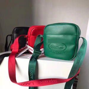 Wholesale sup ss SHOULDER BAG chest pack fashion bags Single shoulder backpack waist black red wihte in stock Belt Bag Men Messenger Bags