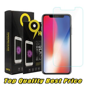 For iPhone XS Max XR Top Quality Best Price Tempered Glass Screen Protector 2.5D For Samsung S7 Ship Out Within 1 Day