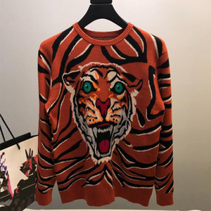 Wholesale Winter Designer brand bee embroidery sweater cardigan for men women outwear clothing