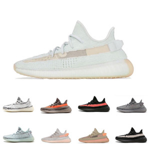 Beluga 2.0 New 35o Breds Semi Frozen Yellow Blue Tint Zebra Copper Olive Green Cream White Kanye West Running Shoes Designers Sneakers