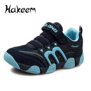 Wholesale Boys Shoes Children Shoes Casual Kids Sneakers Leather Sport Fashion Children Boy Sneakers Spring Summer 2019 Child Running T190916