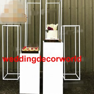 Wholesale party venues resale online - White New Design Backdrop Stand Wedding Backdrop for Wedding Party Venue Decoration from weddingdecorworld
