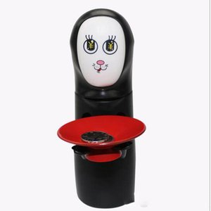 Wholesale Novelty Piggy Banks Toy Novelty Item Miyazaki Hayao Spirited Away No Face Money Cans Electric Music Automatic Coins Collection Funny Toys