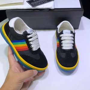 Shoes For Toddlers Quality Sneakers For kidss High End Footwear Kids Shoes Genuine Leather Sneakers Trainers on Sale