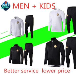 Wholesale 2019 Algeria adult AND kids tracksuit MAHREZ soccer BOUNEDJAH Survetement maillot de foot sportswear kids football training suit