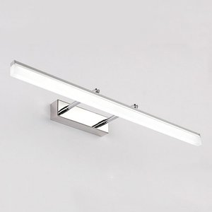 Wholesale Indoor LED Bathroom Lights Wall Mounted Modern LED Wall Lamps for Home Gold Silver Picture Lights Cabinet Sconces