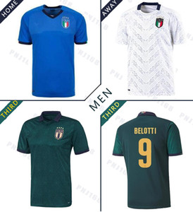 2019 2020 Italy football suit European Cup dark green CHIELLINI EL SHAARAWY BONUCCI INSIGNE BERNARDESCHI FOOTBALL SHIRTS Jersey