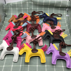 Wholesale horses toys for sale - Group buy Pu horse Bag Charm Toy Handbag Tote Pendant High end Fashion Cute random color