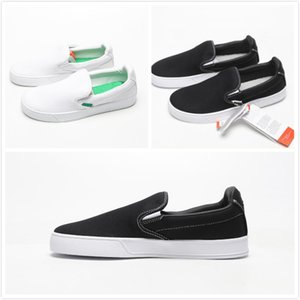 Wholesale cheap unisex Smash Vulc Slip On K Casual shoes Mens Solid Canvas shoes Womens fashion Chaussures Mens Jogging Shoes summer hot sale