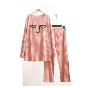 Wholesale sleepwear spring and Autumn men lover home clothes for kg Super cartoon pajamas women cotton pajamas Pregnant woman