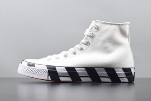 Wholesale OFF chuck Hi White Black s Mens One chuck s Casual Canvas Shoes For Skate Womens Sneakers Trainers Chaussures Size