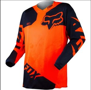 Fox head racing speed drop suit custom made off-road long-sleeved T-shirt quick-drying breathable TLD Jersey long sleeve