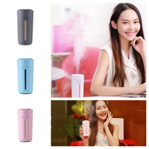 Wholesale hot style Ultrasonic air humidifier essential oil diffusers color lights USB atomizer car aromatherapy diffuser T2I5181