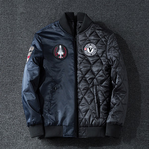Flight Jacket 2019 Handsome Thickening Baseball Serve Will Code 240 Jin Can Clothes Cotton-padded Clothes Male