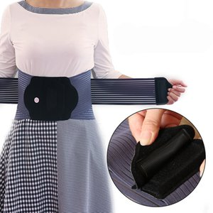 Wholesale back pain support belts resale online - 2020 New Women Men Hot pressed Waist Support Belt Multifunctional Back Support Strap Work Waist Back Pain Belt Size XXL
