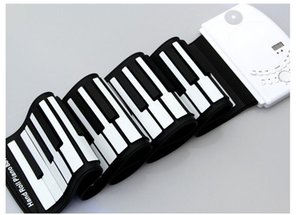 Wholesale 61 key hand roll piano portable silicone hand roll piano manufacturer