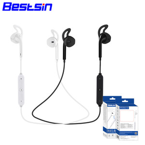 Wholesale Fashion S6 Wireless Bluetooth Headphone Stereo Cellphone In ear Headset with Microphone Outdoor Sport Running for Iphone plue Samsung s8
