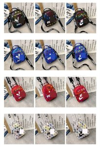 Wholesale Fashion Designer Letter Printed Laser Backpack Unisex Brand AD PA NK Duffel Bag Men Women PU Messenger Bag Beach Travel Sports Bags C61707