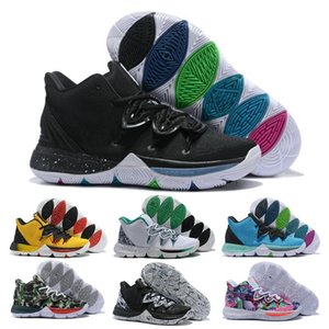 Hot Boys Kids Kyrie V 5 All-Star Basketball Shoes Irving 5S Men Youth Girls Women Zoom Sport training Sneakers High Ankle Size 40-46