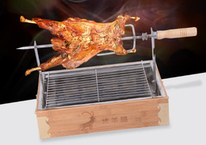 Wholesale grill chicken for sale - Group buy Charcoal roast lamb leg oven roast fish chicken lamb chop barbecue grill BBQ commercial domestic bbq stove
