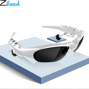 Zilead Men Smart Wireless Bluetooth 5.0Headset Driving Sunglasses Mic Stereo Polarized Headphone Sun Glasses With Box Outdoor