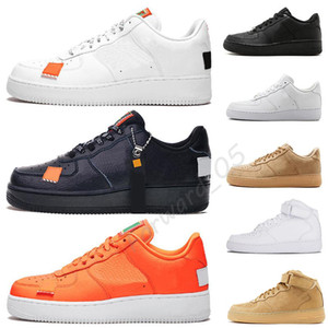 Wholesale 2019 Brand Discount One Dunk Men Women Running Shoes Sports Skateboarding Ones Shoes High Low Cut White Black Trainers Sneakers