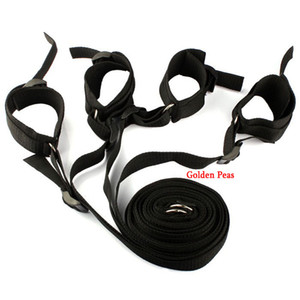 Wholesale Under Bed Restraint Bondage Adult Erotic Sex Furniture Fetish Sex Handcuffs Ankle Cuff Sex Toys for Couples Flirting