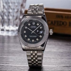2019 High Quality Mechanical Rolex Brand Mens Womens Diamond Watch Watches Auto Date Master Steel Band Men Women watch watches 00006