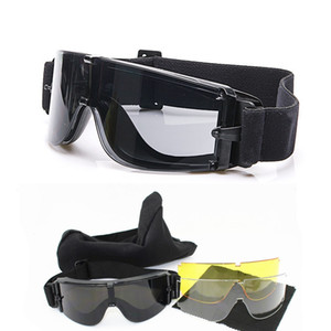 Wholesale Military Airsoft X800 Tactical Goggles USMC Tactical Sunglasses Glasses Army Paintball Goggles