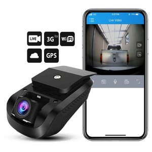 Wholesale Newly 3G 1080P Smart GPS Tracking Dash Camera Car Dvr Live Video Recorder & Monitoring by PC Free Mobile APP (Retail)