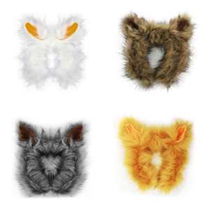 Wholesale Kids Zoo Toys Cosplay Pet Props Halloween Party Dress Up Fox Head Hoop Ears Cosplay Hair Accessories
