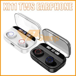 Wholesale X11 TWS Earphone Sports Earbuds IPX7 Waterproof Bluetooth Headset Wireless Headphone with mAh Charger Base for IOS Android Mobile Phone