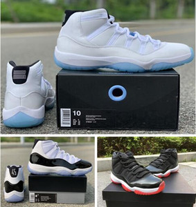 Wholesale top gym man for sale - Group buy Real Carbon Fiber Legend Blue Concord s Gym Red Space Jam Prom Night Top Quality Basketball Shoes With Box Men Sneakers shoes