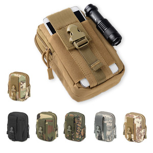 Wholesale Universal Outdoor Tactical Holster Military Molle Hip Waist Belt Bag Wallet Pouch Purse Phone Cases