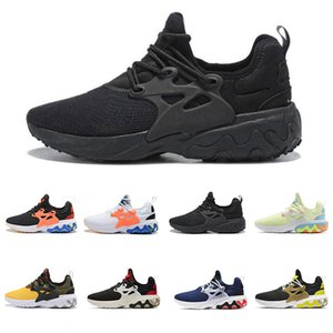 Wholesale Cheap High Quality React Presto all blacks Running Shoes For Mens Womens Rabid Panda Breezy Thursday Brutal Honey Prestos trainers sneakers